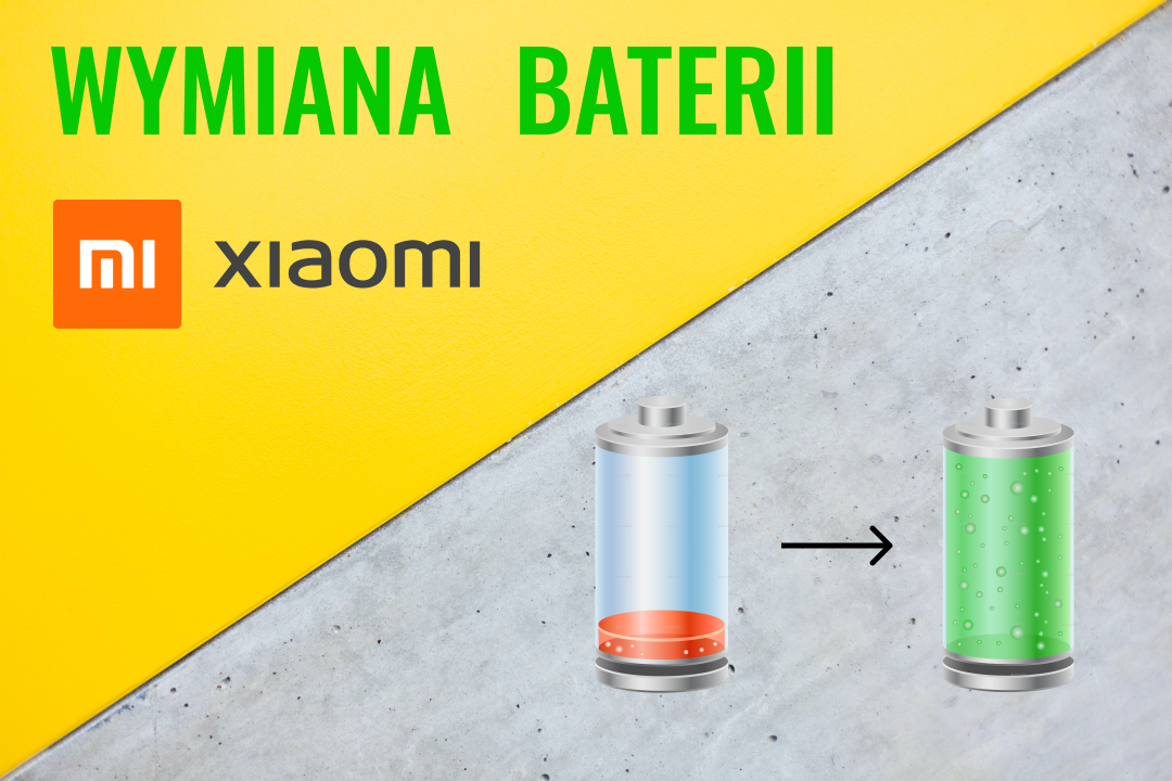 wymiana baterii Xiaomi